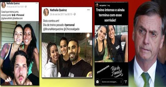 Filha de Queiroz, também do esquema Bolsonaro, é personal trainer de 'famosos'