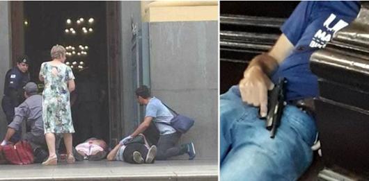 Homem mata 5 e comete suicídio em Catedral de Campinas_Divulgação