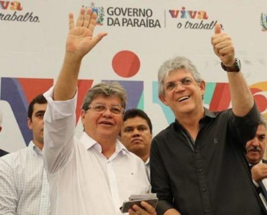 Joõa Azevêdo e Ricardo Coutinho