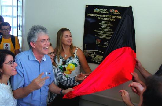 Ricardo Coutinho_entrega de obras em Sousa