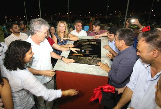 Ricardo Coutinho_entrega-segunda etapa do Parque Bodocongó