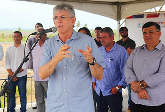 Ricardo Coutinho_entrega_1ª etapa do Parque Industrial de Caaporã