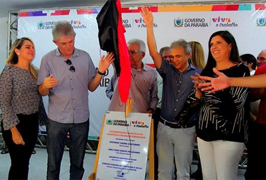 Ricardo Coutinho_inauguração de obras em Lagoa Seca e Espeerança
