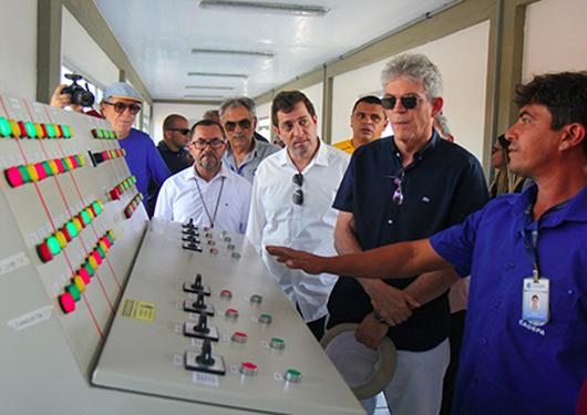 Ricardo Coutinho_inauguração em Alagoa Nova