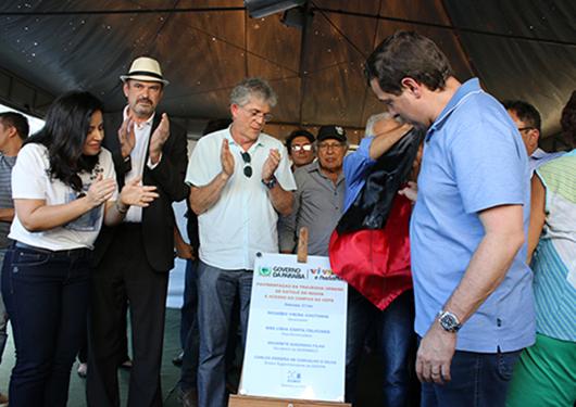 Ricardo entrega pavimentação de travessia de Catolé do Rocha e acesso à UEPB