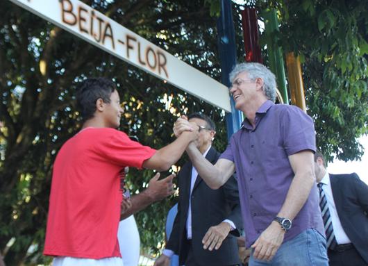 Ricardo_ inauguração_ Espaço Esperança para adolescentes e área de convivência no Juliano Moreira