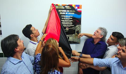 Ricardo_entrega_escola em Campina Grande