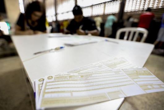 justificativa eleitoral_Arquivo Agência Brasil