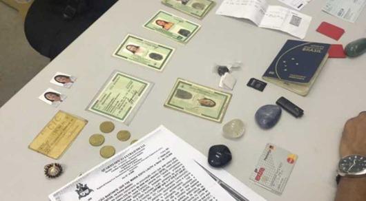 Casal é preso tentando transferir R$ 1 milhão com documentos falsos