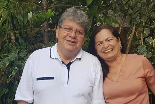 Nininha Lucena e o governador João Azevêdo