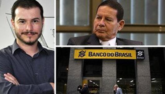 PSOL vai à PGR para barrar aumento do filho do general Mourão no BB