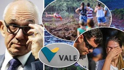 Presidente da Vale ganha R$ 1,6 milhão por mês e avalia a vida dos mortos pela empresa em R$ 100 mil