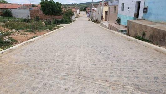 rua pavimentada-Princesa Isabel