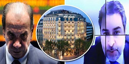 Aloysio recebeu cartão de crédito de conta suíça em hotel de luxo em Barcelona