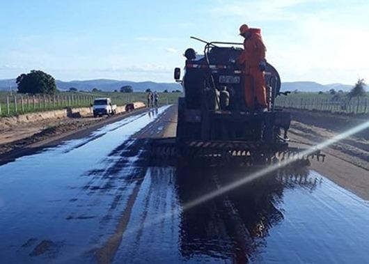 Governo do Estado investe mais de R$ 43 milhões em obras rodoviárias