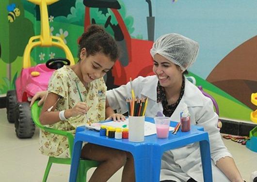 Hospital Metropolitano utiliza a Terapia Ocupacional para reabilitar pacientes do pós-operatório