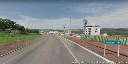 Itatiaiuçu- Imagem doGoogle Maps