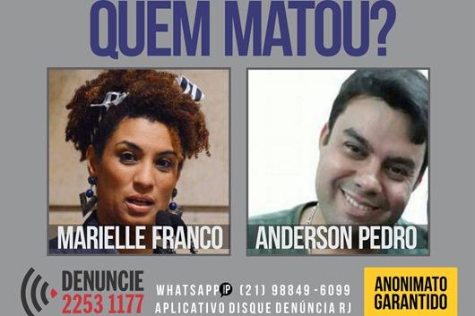 Marielle_e_Anderson-Disque Denúncia-Divulgação