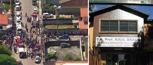 Chega a dez número de mortos em tiroteio em escola em Suzano; adolescentes usaram revólver e arm