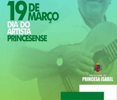 Dia do Artista Princesense-banner da PMPI