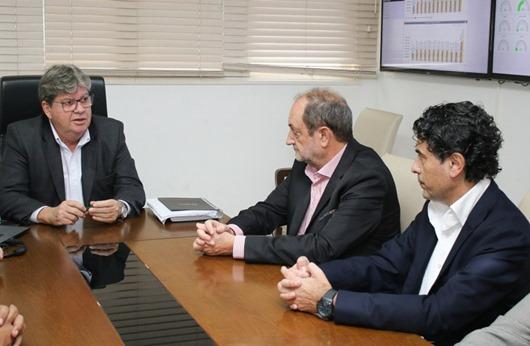 João Azevêdo_parcerias_ investidores espanhóis