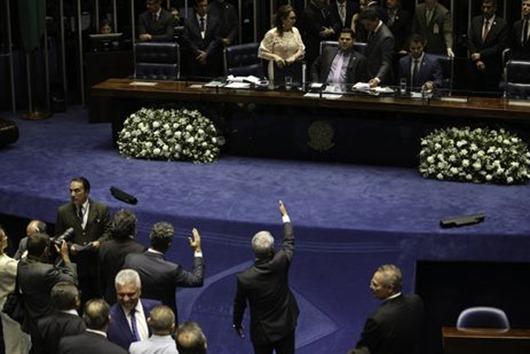 Plenário do Senado-Agência Brasil