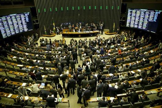 Plenário dos Deputados-Agência Brasil