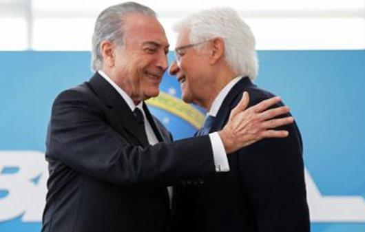 temer_moreira franco-Arquivo Agência Brasil