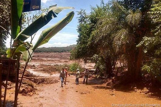 Brumadinho_Divulgação-Corpo de Bombeiros