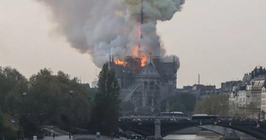Catedral de Notre Dame-Reprodução TV