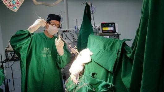Hospital Metropolitano realiza cirurgia para tratamento da doença de Parkinson