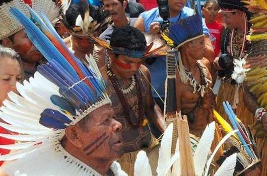 Índios-Arquivo da Secom-PB