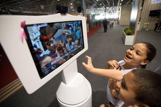 robô de telepresença-Agência Brasil
