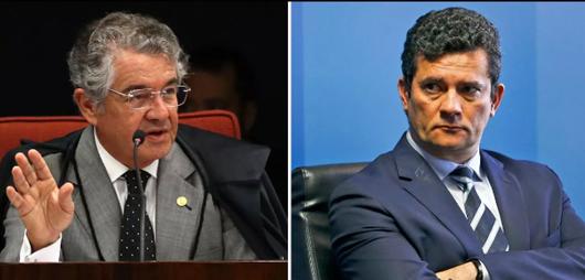 Marco Aurélio Mello diz que Moro não pode destruir provas