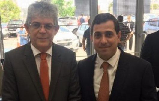 Ricardo Coutinho e Gervásio Maia