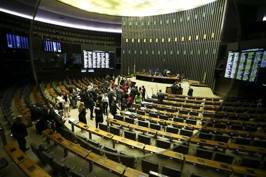 plenário da Câmara-Agência Brasil