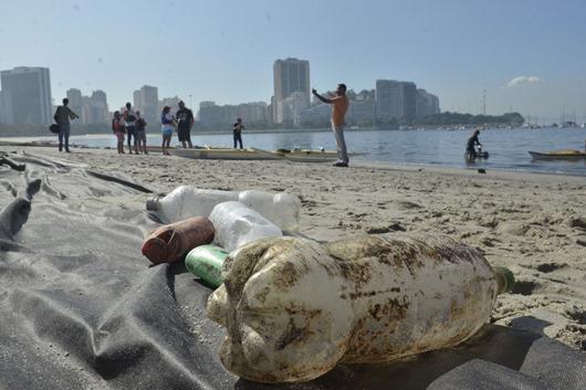 poluição marinha-Foto da Agência Brasil
