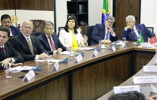 Azevêdo_audiência_ministro Pontes