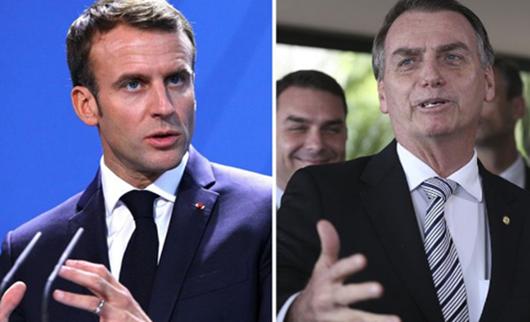 Brasil merece um presidente à altura do cargo, afirma Macron