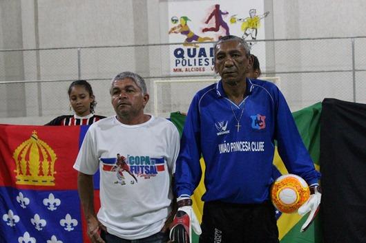 I Copa de Futsal Princesense- homenagem ao goleiro Tevaldo