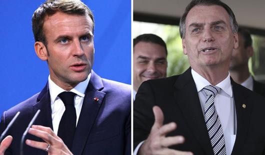 Macron chama Bolsonaro de mentiroso e diz que França sairá do acordo UE-Mercosul