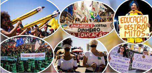 Manifestações Estudantis_Foto da Míidia Ninja