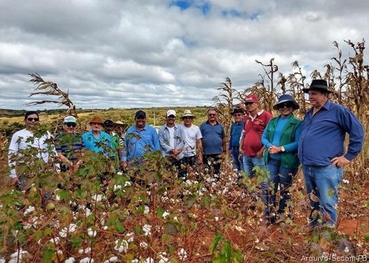 Produtores rurais de Água Branca-Foto da Secom-PB