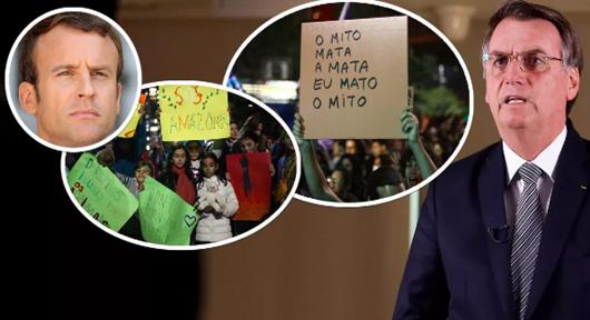 Reunião do G7 começa com Bolsonaro isolado e sob repulsa mundial