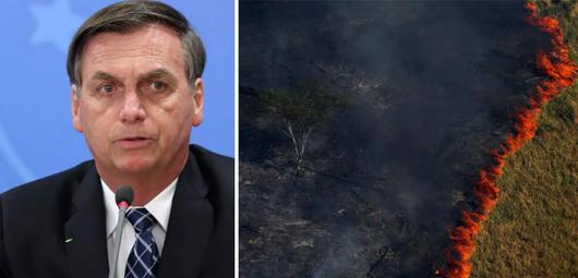 Depois de atacar Ongs, Bolsonaro ataca o produtor rural: 'há suspeita que produtor rural esteja tacando fogo'