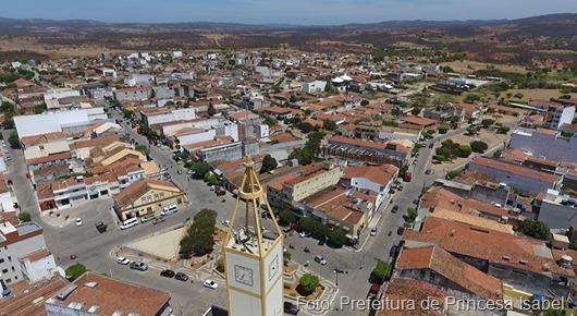 vista aérea de Princesa Isabel