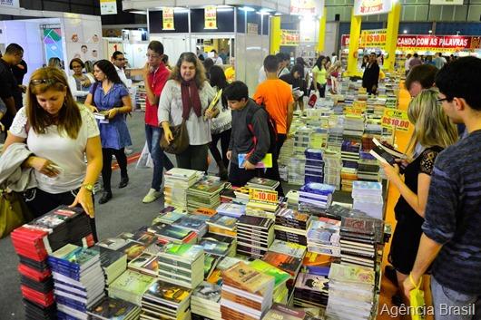 19ª edição da Bienal Internacional do Livro do Rio de Janeiro-Agência Brasil