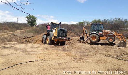 Estrada da Pedra do Guiné-Prefeitura de Princesa Isabel