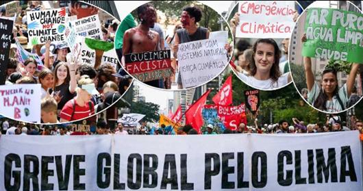 Greve Geral pelo Clima-Brasil e Mundo