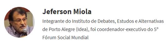 Jeferson Miola